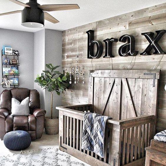 muur ideeën voor babykamers