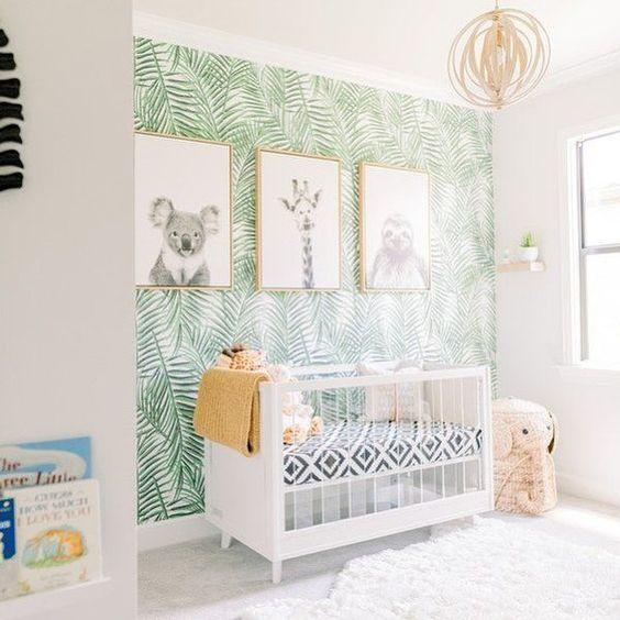 leuke ledikant idee in de babykamer