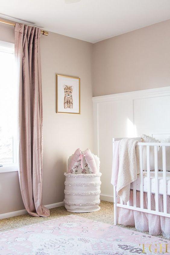 mooie gordijnen voor babykamers