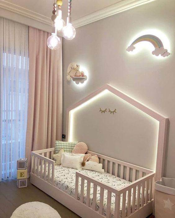 kleuren voor meisjes babykamers