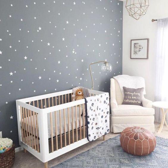 behang ideeën voor babykamers