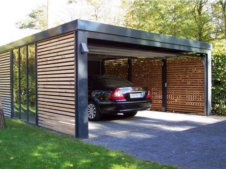 carport in voortuin ontwerp