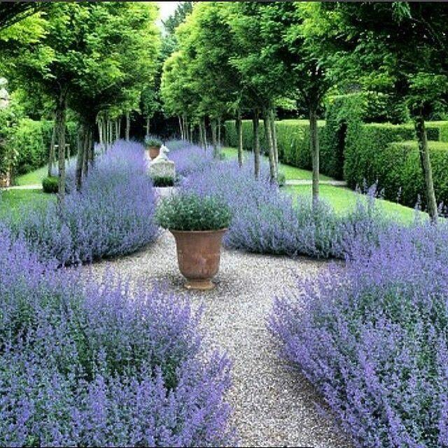 grind in een mediterraans tuin ontwerp