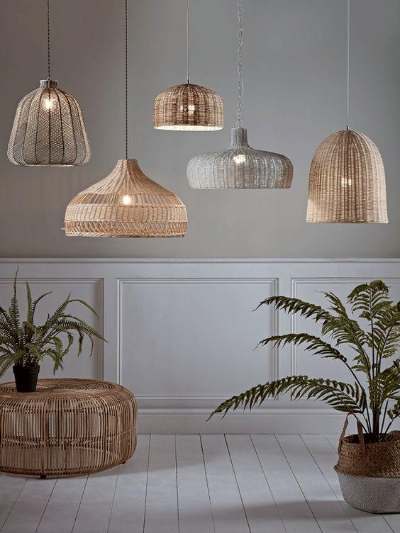 hanglamp ideeën met beach look