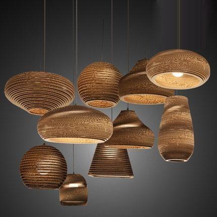 hanglamp ideeën met rieten lampen