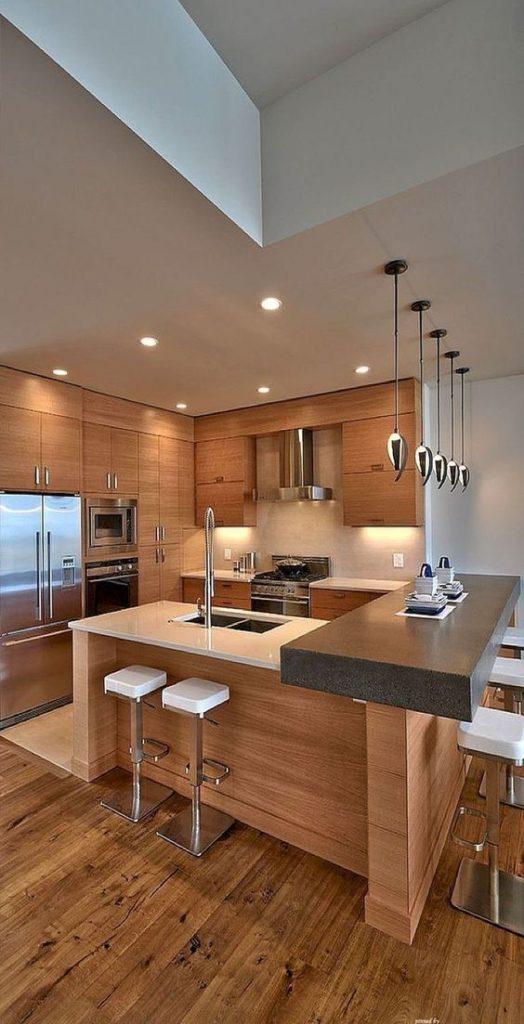 hangende keukenlamp met spotverlichting ideeën