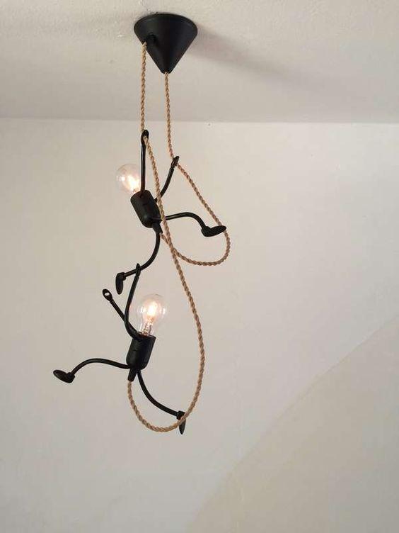 kinderkamer lamp ideeën DIY hanglamp