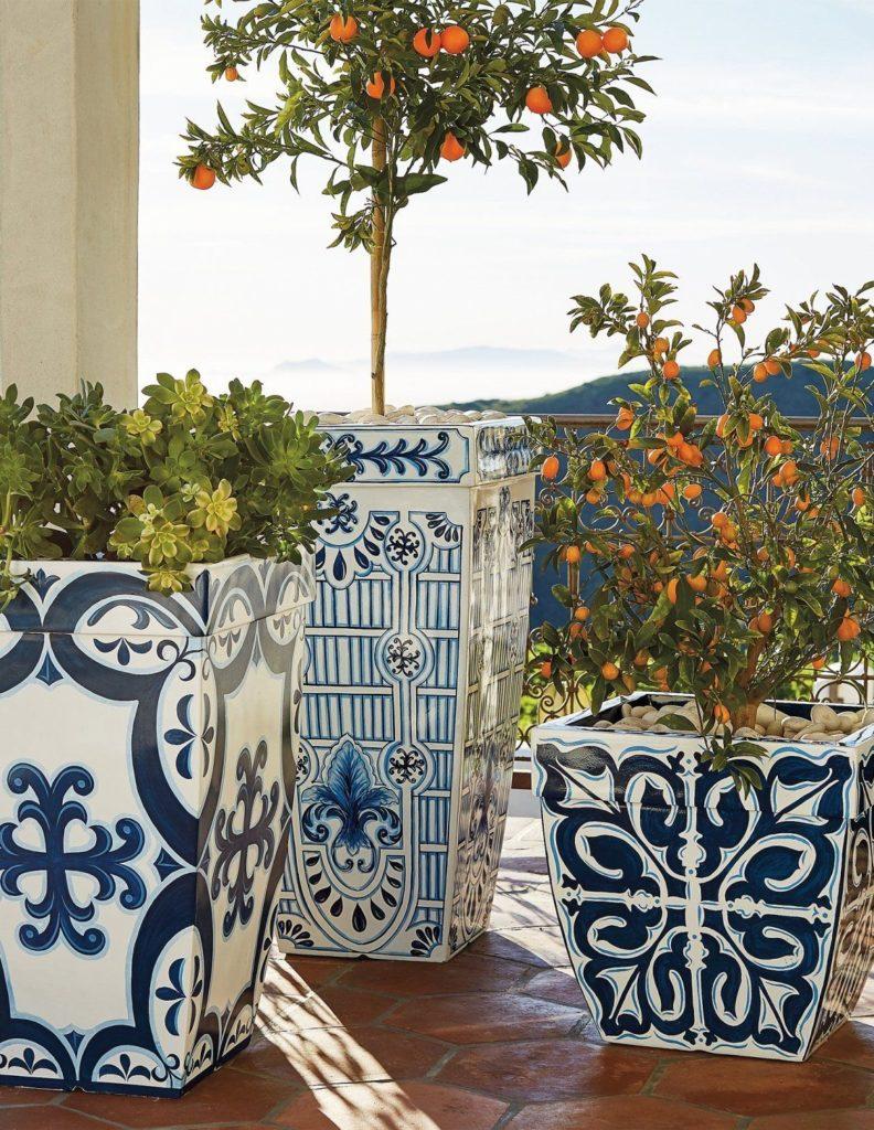 mediterrane bloempot ideeèn