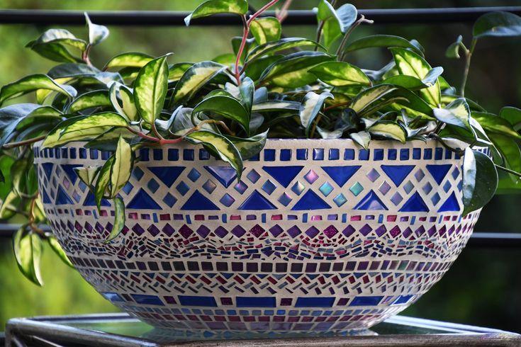 mediterrane tuin idee Mozaic tegels 2