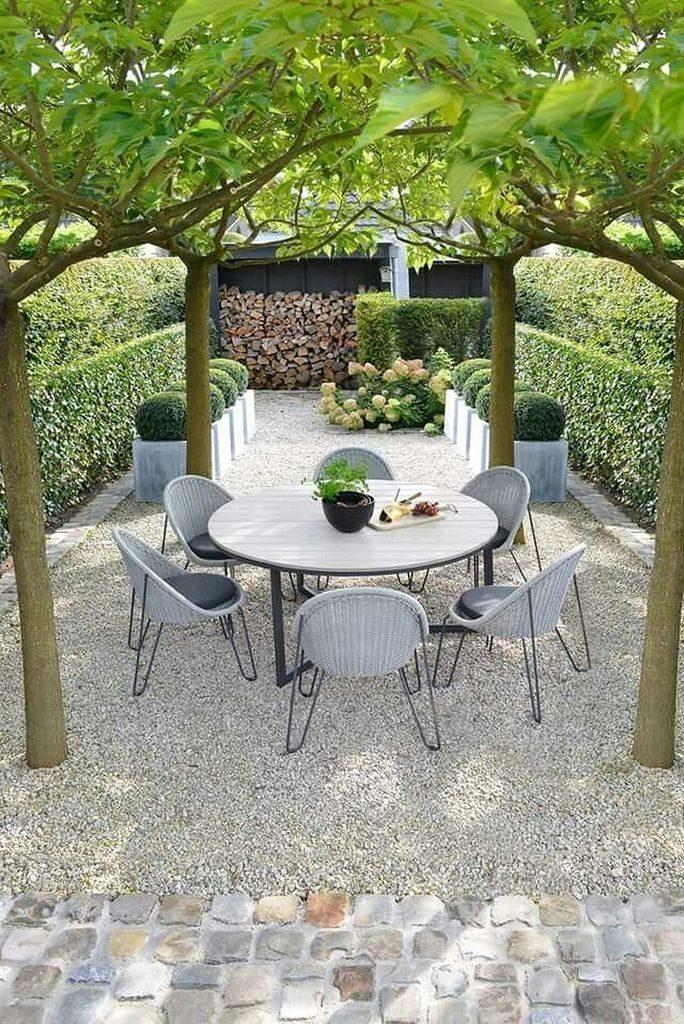 mediterrane tuin ontwerp met overdekte dining