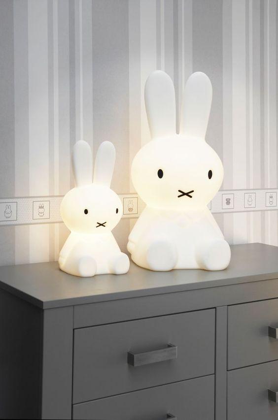 Leuke nachtlampjes voor babykamers