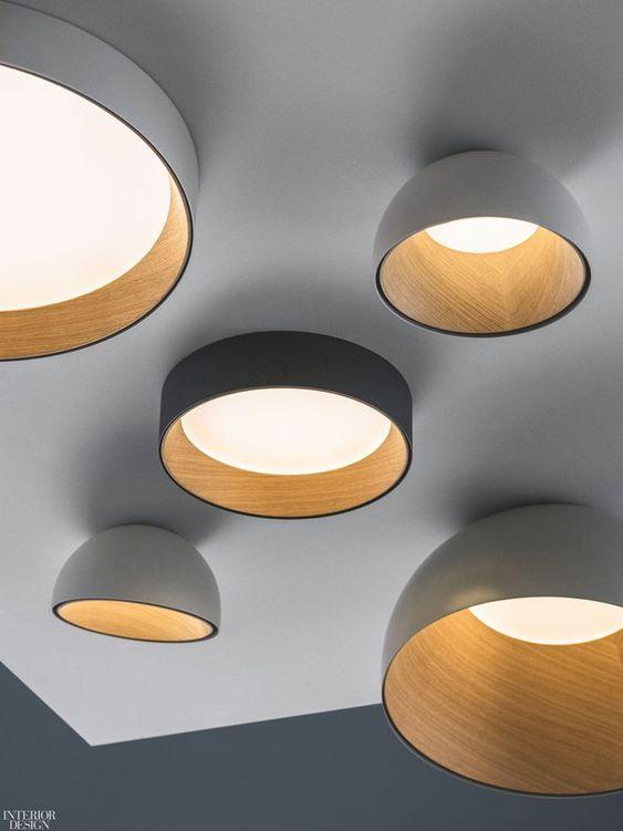 scandinavische plafond lamp idee