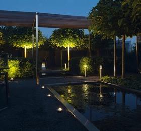 spot verlichting in tuintegel ideeen
