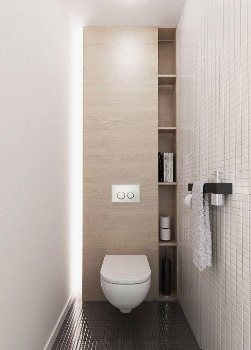 toilet verlichting met licht paneel