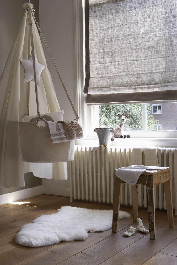 mooie vouwgordijnen voor babykamers