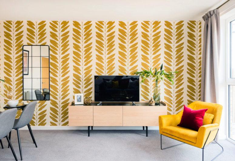 Grijze vloerbedekking ideeën en voorbeelden in modern interieur