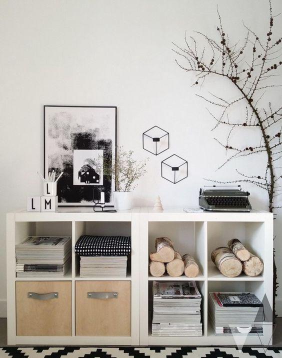 Ikea Kallax Kast ideeën, hacks en voorbeelden