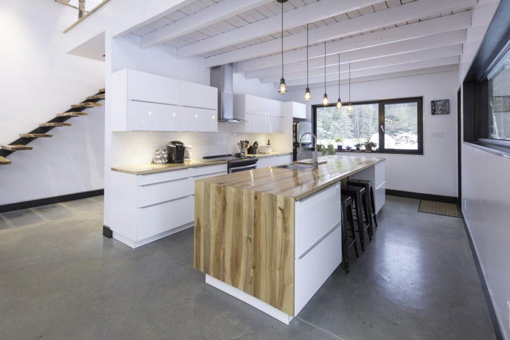 Keukens met kookeiland