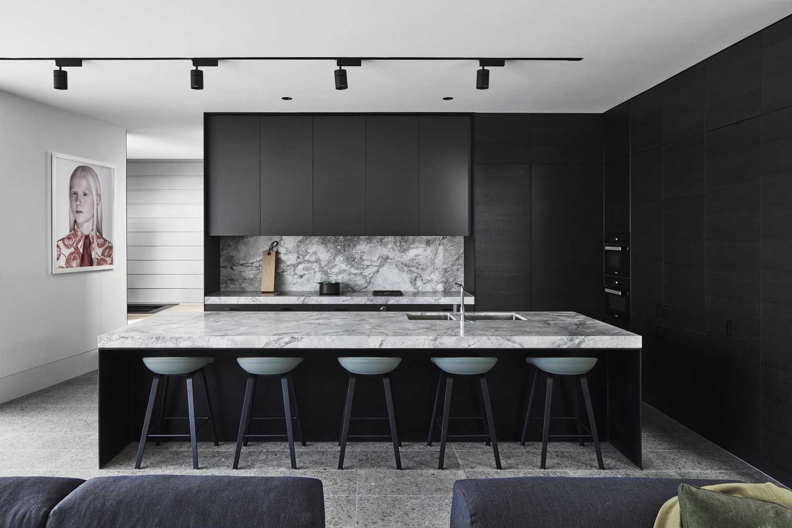 Zwarte Keuken Ideeën en Voorbeelden 9