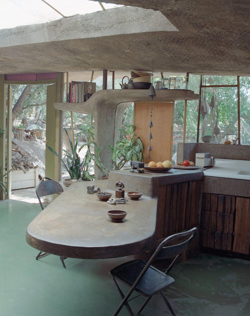 keuken met tafelblad