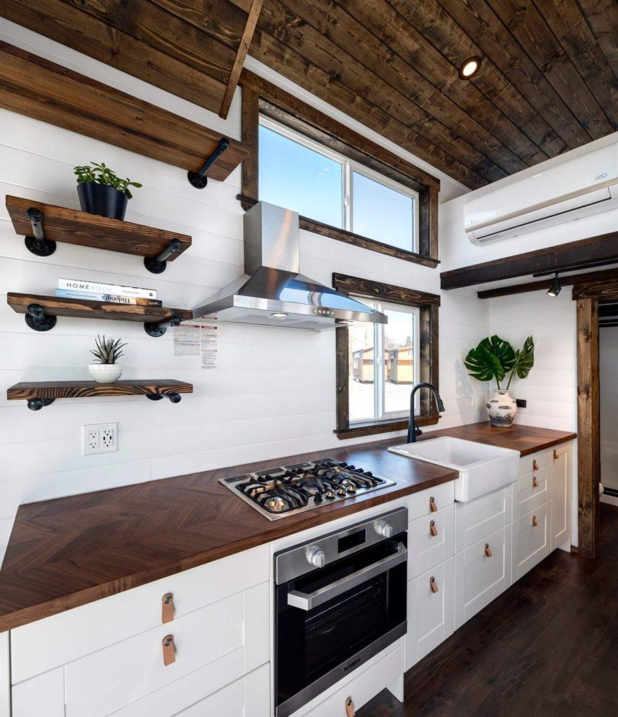 strakke visgraad keukenblad