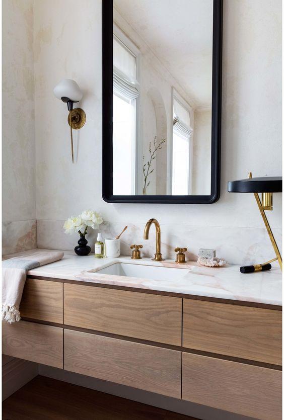 moderne badkamer ideeën en voorbeelden