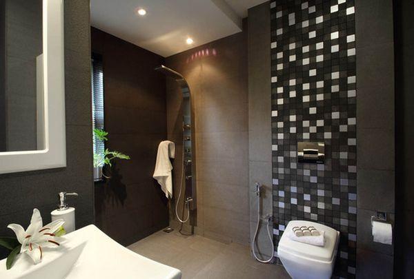 open inloopdouche in de badkamer