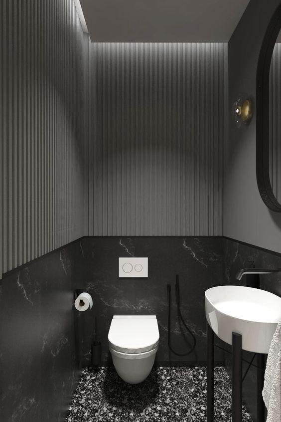 strak design wc met wite accenten