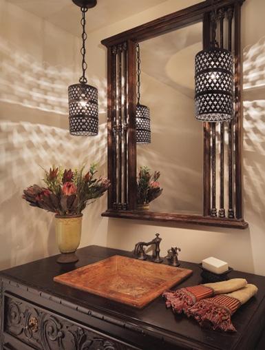oosterse en marokkaanse accessoires in wc