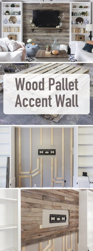 Landelijke houten muur in de woonkamer