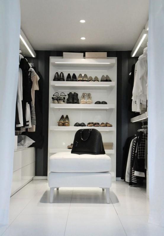 minimalistische kledingkast ideeen